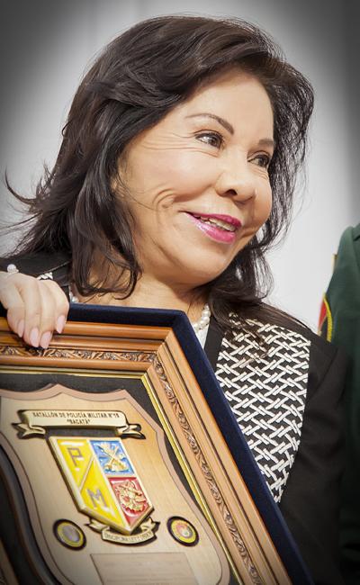 Reconocimientos a la Dra. María Luisa Piraquive 2017